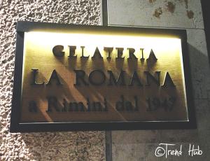 Gelaterie a Roma La Romana dal 1947